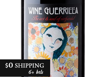 2012 Wine Guerrilla Zinfandel
