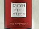 2012 Dutch Bill Creek Pinot Noir