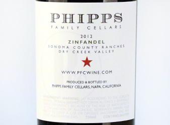 2012 Phipps Family Zinfandel