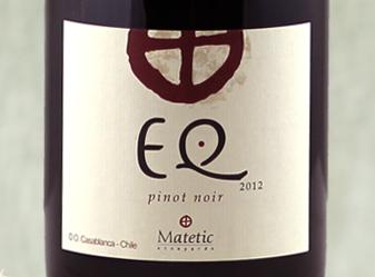 2012 Matetic Pinot Noir EQ