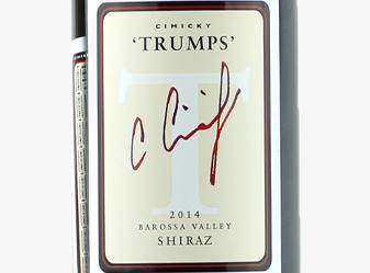 2014 Charles Cimicky Trumps Shiraz