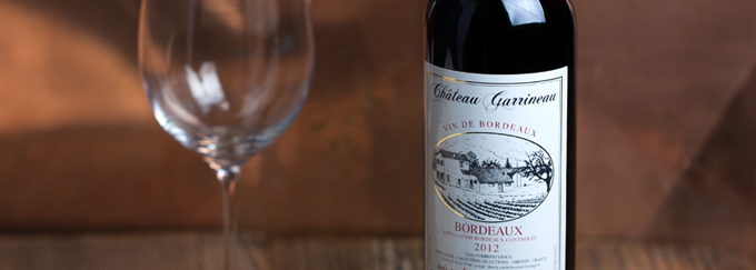 2012 Chateau Garrineau Rouge