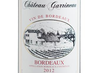 2012 Chateau Garrineau Rouge