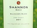 2014 Shannon Ridge Sauvignon Blanc