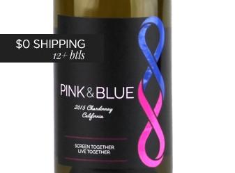 2015 Pink & Blue Chardonnay