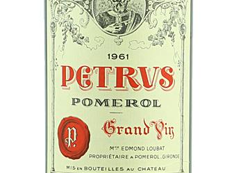 1961 Chateau Petrus Pomerol