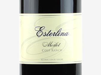 2004 Esterlina Estate Merlot