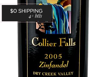 2005 Collier Falls Zinfandel