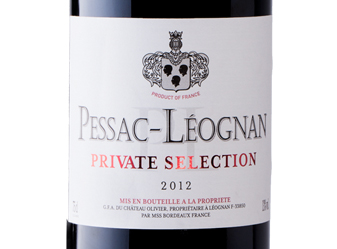 2012 Private Selection Pessac-Léognan