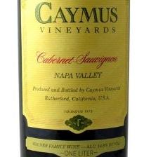 2017 Caymus Liter Cabernet Sauvignon