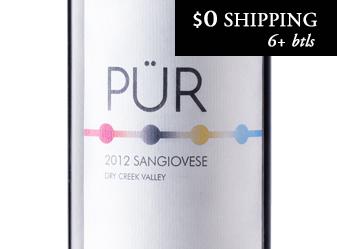 2012 PÜR Single Vineyard Sangiovese