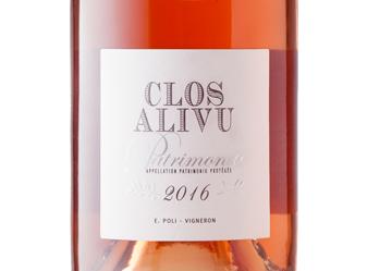 2016 Clos Alivu Rose