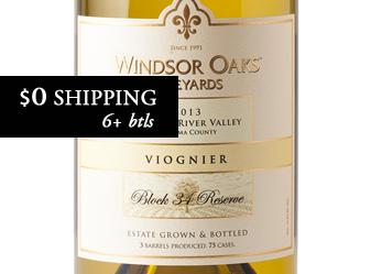 2013 Windsor Oaks Viognier Reserve