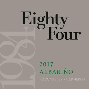 2017 Eighty Four Albariño