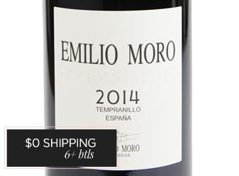 2014 Emilio Moro Tempranillo