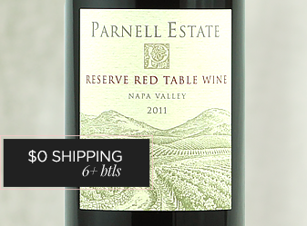 2011 Parnell Estate Reserve Red