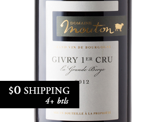 2012 Domaine Mouton Givry 1er Cru