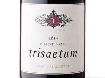 2014 Trisaetum Coast Range Pinot Noir