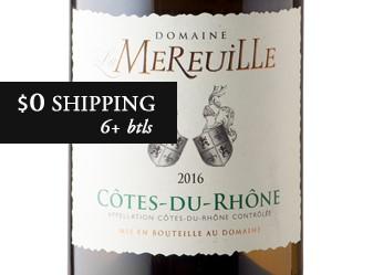 2016 Domaine La Mereuille Blanc