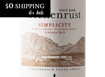 2015 Stellenrust 'Simplicity' Red