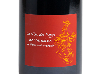 2015 Bertrand Stehelin Vaucluse Rouge