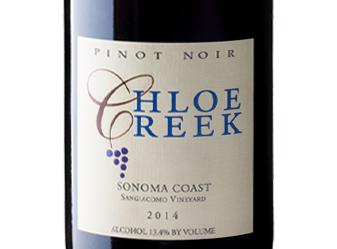 2014 Chloe Creek Pinot Noir