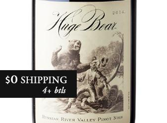 2014 Huge Bear Pinot Noir