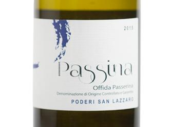 2015 Poderi San Lazzaro Passina