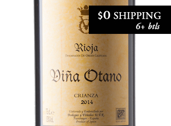 2014 Viña Otano Rioja Crianza