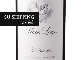 2013 Stags' Leap The Investor Red