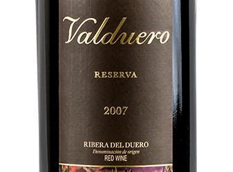 2007 Bodegas Valduero Riserva