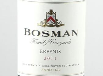 2011 Bosman Erfenis