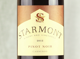 2012 Merryvale Starmont Pinot Noir