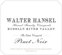 2016 Walter Hansel 'Estate'