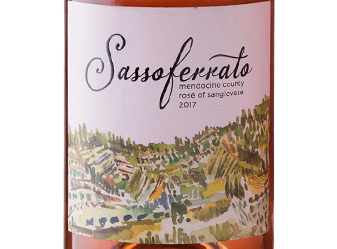 2017 Sassoferrato Rosé of Sangiovese