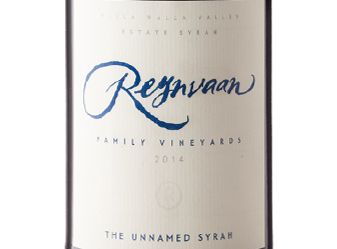"2014 Reynvaan ""The Unnamed"" Syrah"