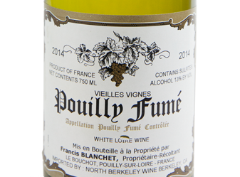 2014 Francis Blanchet Pouilly-Fumé