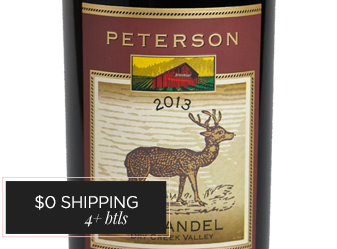 2013 Peterson Family Zinfandel