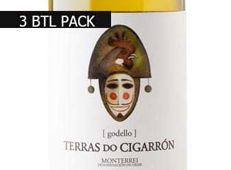 2015 Terras do Cigarron Godello 3pk