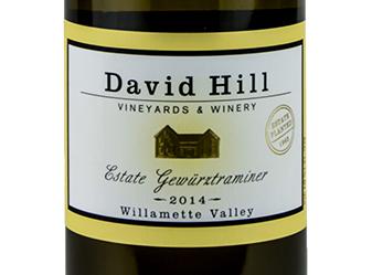 2014 David Hill Estate Gewurztraminer