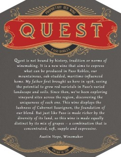 2016 Quest Proprietary Red