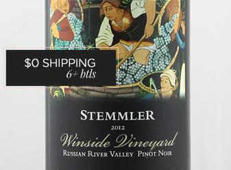 2012 Stemmler Pinot Noir