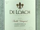 2009 DeLoach Stubbs Vyd Chardonnay
