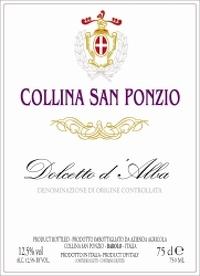 2016 Collina San Ponzio Dolcetto