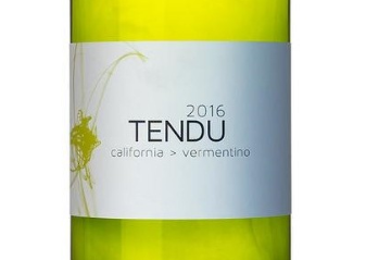 2016 Tendu California White Wine