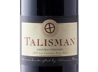 2009 Talisman Adastra Vnyd Pinot Noir