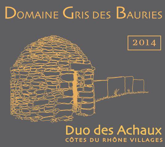 2015 Gris Des Bauries Duo Des Achaux