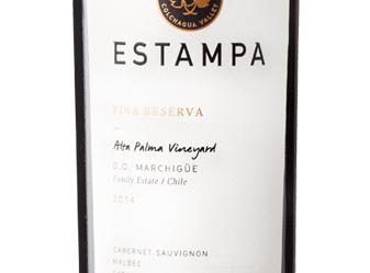 2014 Estampa Fina Reserva Red Blend