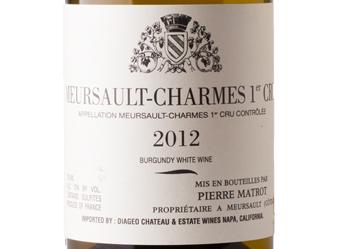2012 P. Matrot Meursault-Charmes