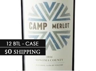 2016 Camp Merlot Case